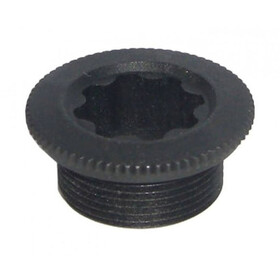 Shimano Fastening screw for left crankarm black